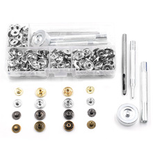 ФОТО 50 sets snap buttons+manually install the tool. boxed.diy accessories. metal buttons. jeans.decorative buttons. snaps rivet