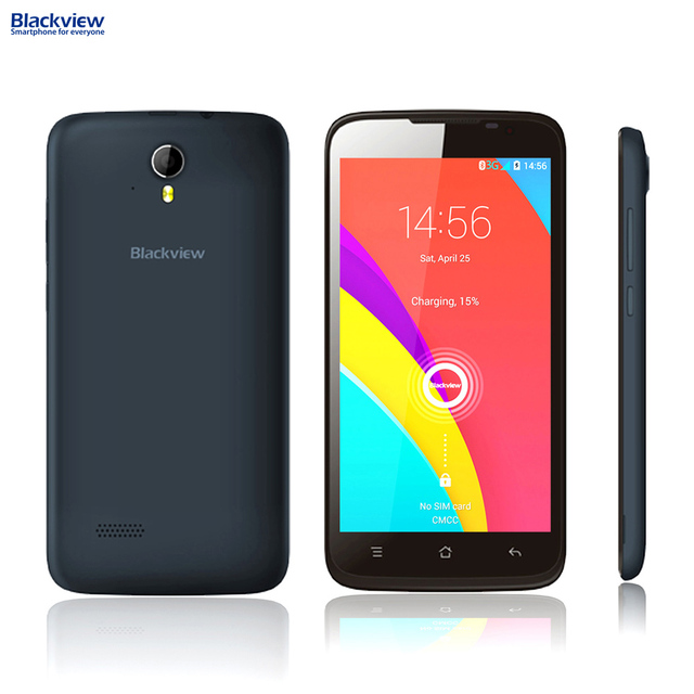"Blackview Zeta 3G WCDMA Smartphone Android 4.4 MTK6592 Octa core 1.4GHz 1GB RAM 8GB ROM 5MP 8MP 5.0"" HD IPS Mobile Phone"