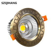 LED COB Downlights Dimmable 10W Recessed Ceiling Led Down Light 15W Spot European Style 20W lamp 85-265V