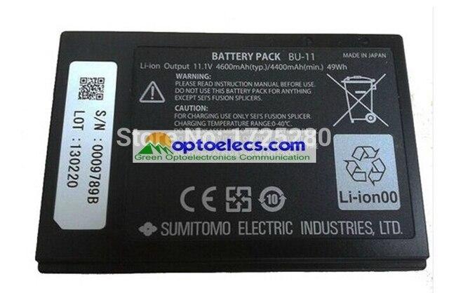 משלוח חינם Sumitomo BU 11 סוללה עבור T 71C/ T 81C/ Z1C/Q101 fusion כבלר