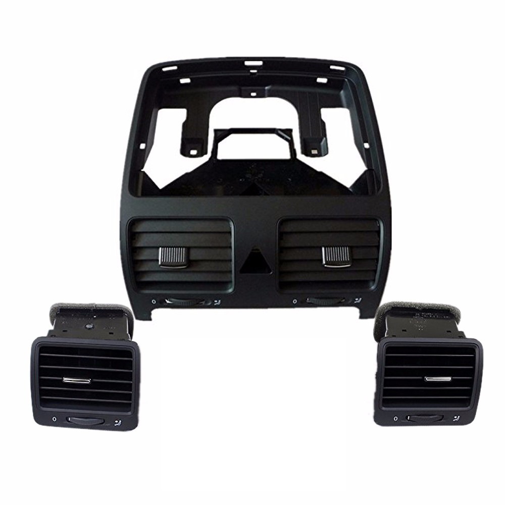 Qty3 TUKE OEM VW jetta air vents  Before car vents  After the vent Pour VW Golf Jetta MK5 MKV 1KD819728 1K0819703 1K0819704 before the incal