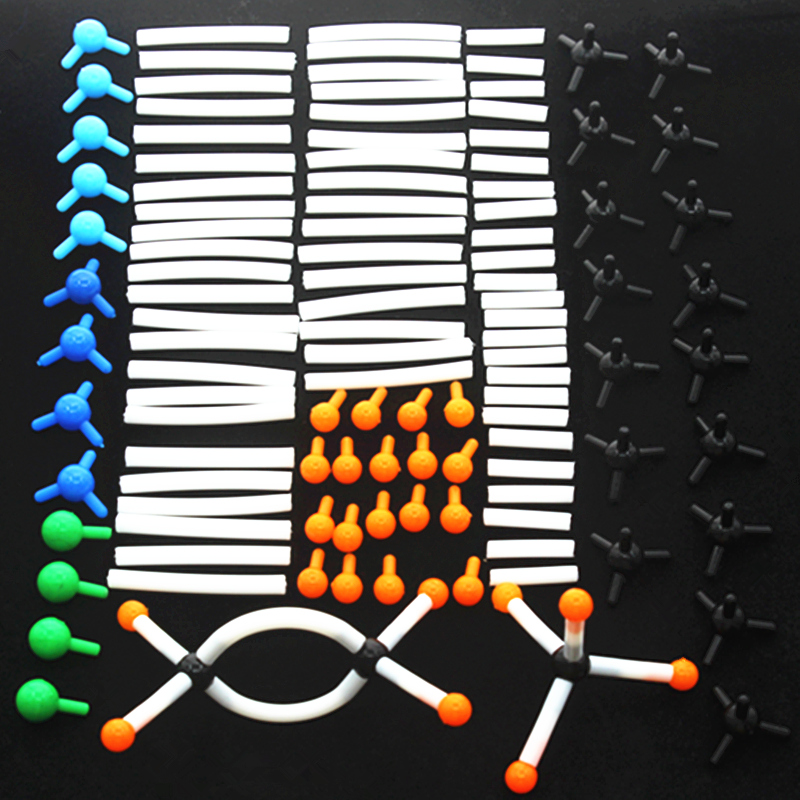 96pcs Molecular Model Set, General Organic Chemistry For School Laboratory Teaching Model,diameter 9mm Molecular Models