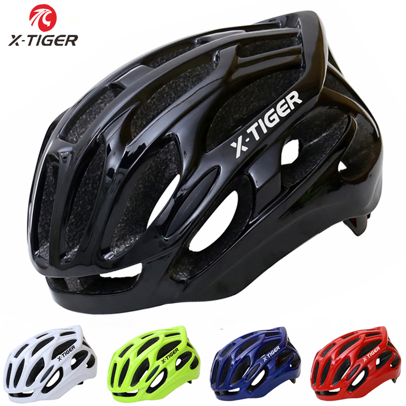 X-Tiger Brand Protect MTB Bicycle Helmet Safety Adult Mountain Road Bike Helmets Casco Ciclismo Man Women Cycling Helmet 2017 коляска combi combi прогулочная коляска f2 rose pink розовый