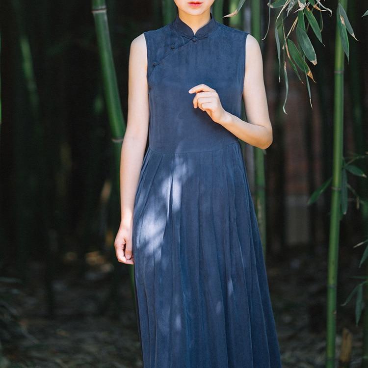 Women's Clothing Beautiful Blouse Original Chinese Style Womens Wear Literature Retro Irregularity Frenulum Simple Sackcloth Female Shirts N229