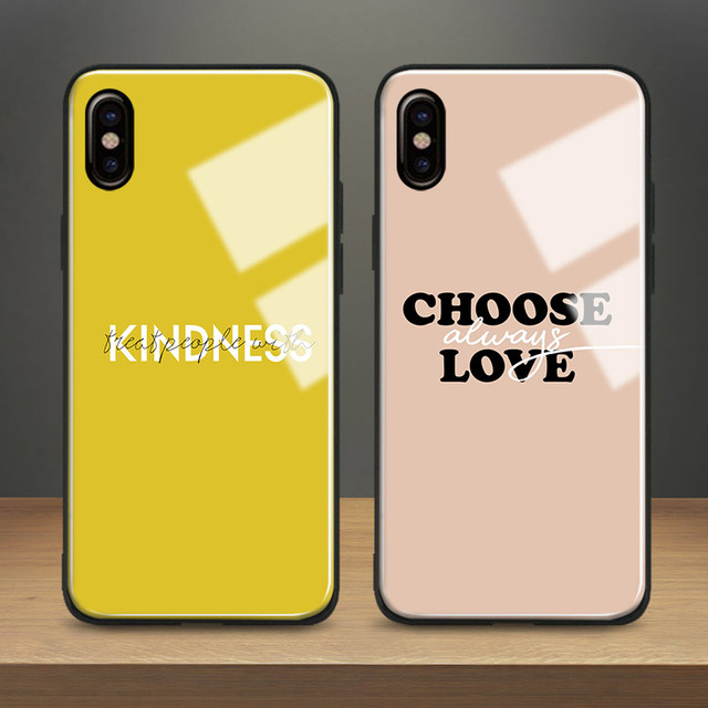 finest selection 78fec 03479 US $4.54 9% OFF|HARRY STYLES Pastel Quotes Art Painting Tempered Glass  Phone Case Soft Silicone Cover For Apple iPhone 6 6s 7 8 Plus X XR XS  MAX-in ...