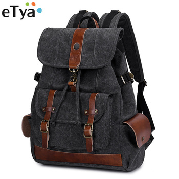 eTya Brand Travel Men's Backpack Male Luggage Shoulder Bag Computer Backpacks Men Large Capacity Quality Functional Travel Bags