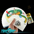 Fanning Deck Magic Tricks Free Shipping Props Toys Stage Magia Dragon Picture