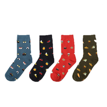 Summer tops for women 2018 Color Men/Women 12 Pairs/Lot Japan Cute Fashion Pattern Cotton Sock Women Short Socks