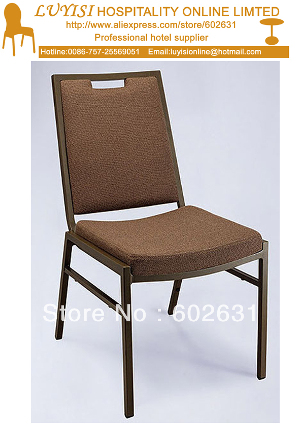 Stacking Steel Banquet chair hot sale stacking steel banquet chair luyisi1039