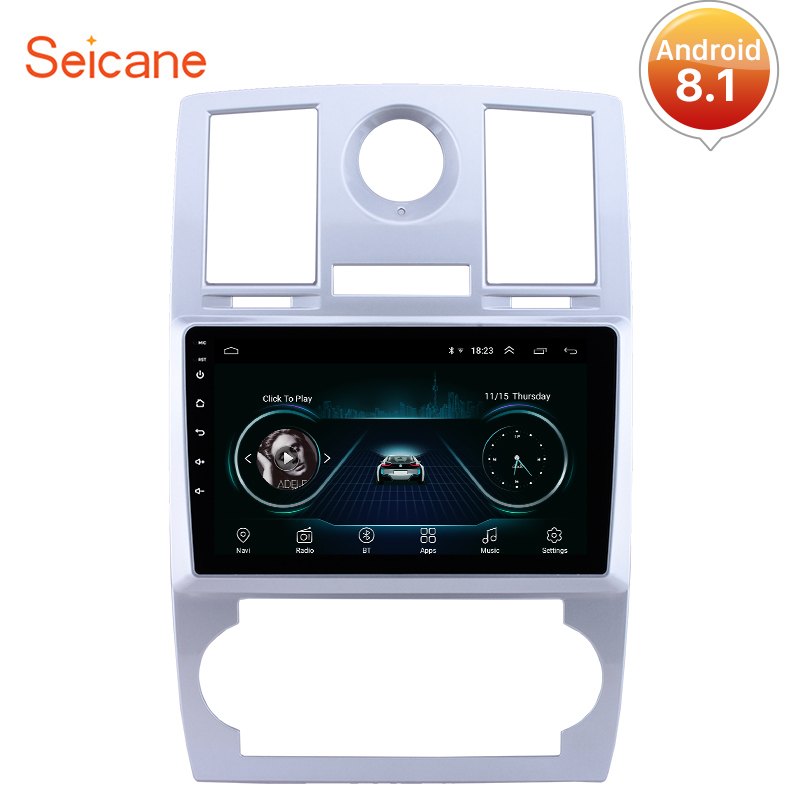 Seicane Android 8 1 Car GPS Navigation Radio Auto Stereo Unit Player For Chrysler Aspen 300C