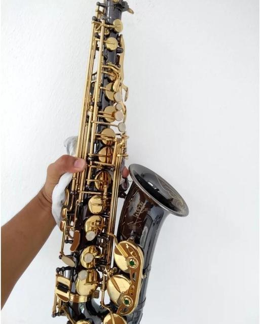 2018 New Selmer Alto Saxophone Sax R54 B Flat Musical Instruments Professional Black Nickel Gold Saxofone Instruments