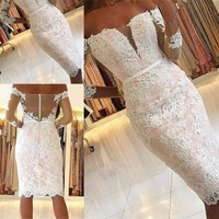2019 Women Vestidos De Fiesta Top Recommend Dress Angel Novias Cheap Beach Bridal Party Dresses Elegant Short Wedding Dress