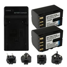 2pcs 2200mAh BN-V416 BN V416 Camera Charger Battery For JVC BN-V428 V428U GR-D31 GR-D34 GR-D93 GR-D220 GR-D225 GR-D228 GR-D230