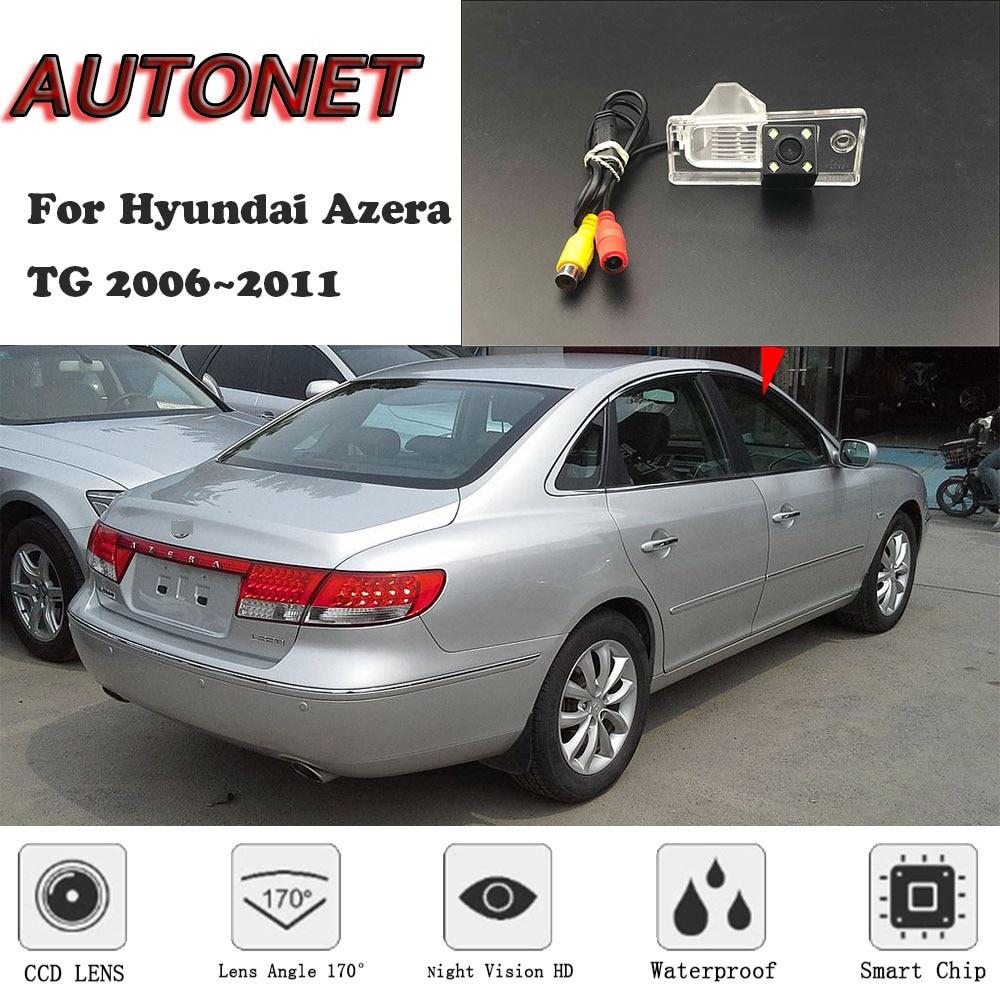 AUTONET HD Night Vision Backup Rear View Camera For Hyundai Azera TG 2006~2011 CCD/license Plate Camera Or Bracket