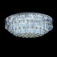 Низкая Напряжение светодиодный творческий минималистский спальня гостиной потолочный светильник кристалл круглой комнате Декор потолка ...