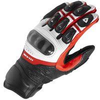 Yeni 2017 Revit motosiklet eldivenleri siyah/beyaz/kırmızı yarış eldivenleri Hakiki deri motosiklet eldiveni