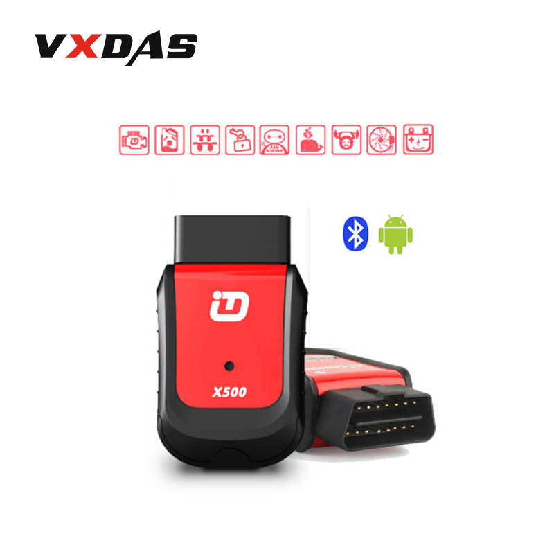 Prix pour 2017 xtuner x500 vpecker bluetooth android auto diagnostic scanner obdii + dpf + abs + remise d'huile + tpms + epb + injecteur + immo