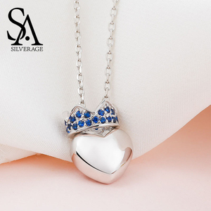SA SILVERAGE Heart Crown Penda