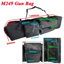M249 Tactical Rifle Gun Bag Outdoor Airsoft Paintball Hunting Carry Bags Heavy Duty Sport About 95cm