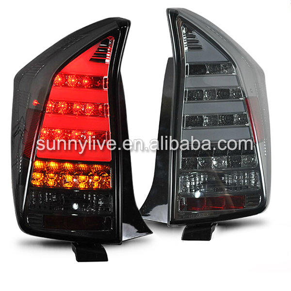 For TOYOTA Prius LED <font><b>Tail</b></font> Lamp 2009-11 Smoke Black Color SN