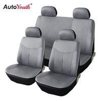 PU Leather Car Seat Covers Auto Universal AUTUYOUTH universal for Toyota Lada Renault Audi Peugeot VW kalina granta priora