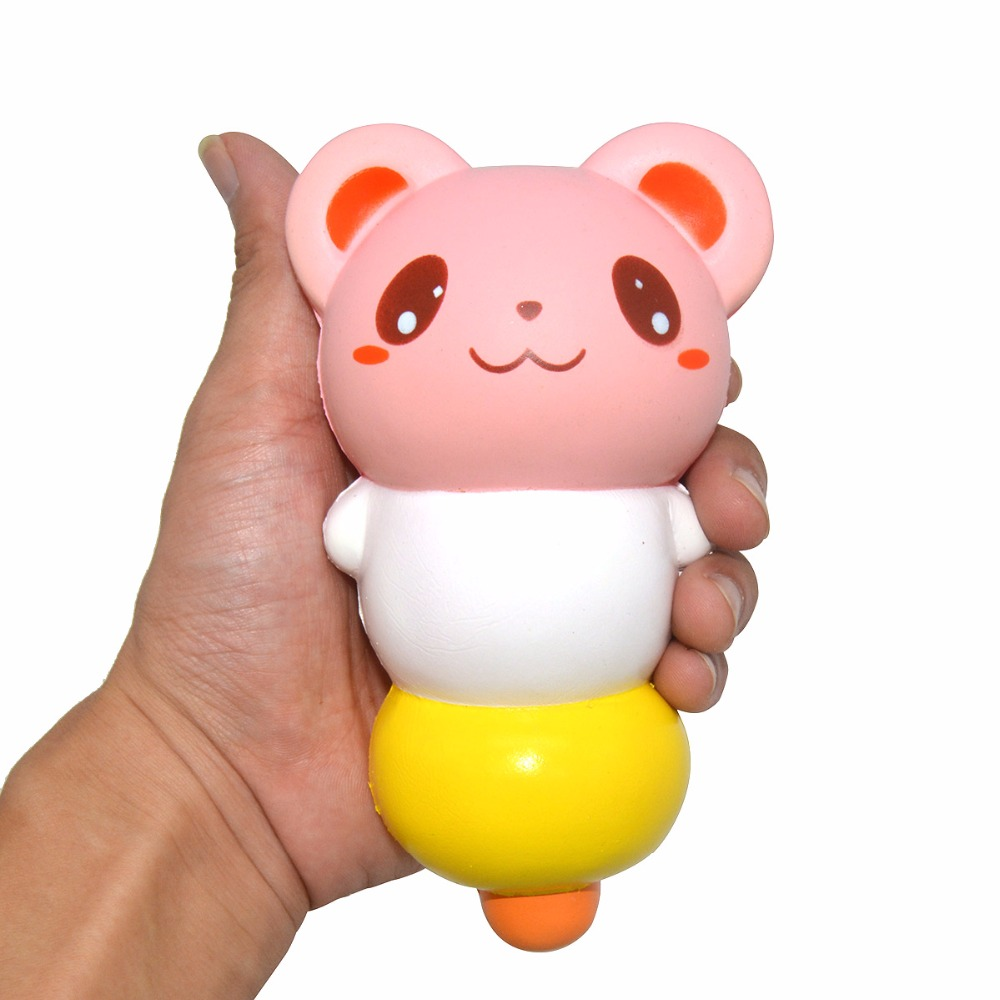 1PCS New Super Slow Rising Squishy Animal Dango Scented Cute Face Original Package Kids Gift Toy Random Color