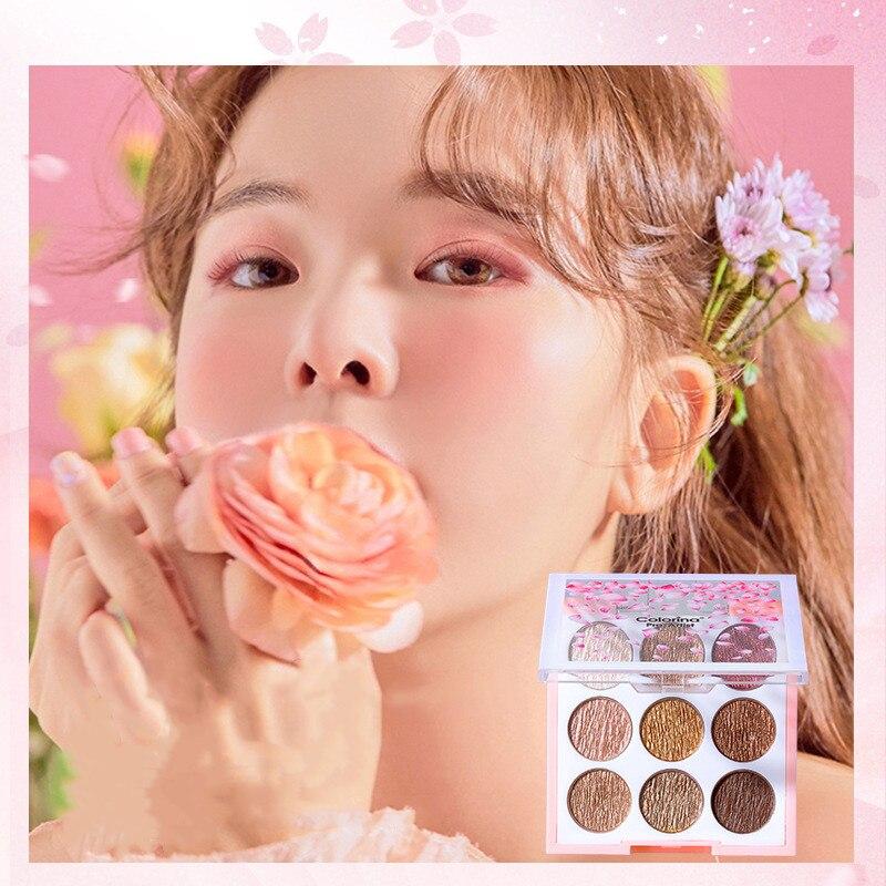 9 Colors 4 Seasons Eye Shadow Long lasting Waterproof Palette Matte Shimmer Glitter Shadow Of Eye Shadow Palette Blush Makeup in Eye Shadow from Beauty Health