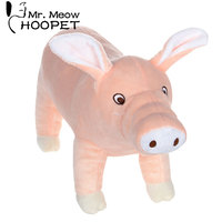 Hoopet pet chew toy funny dog toy pig giocattolo addormentato giocattolo per cani