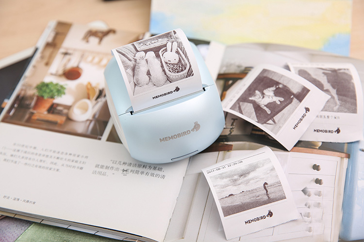 Portable thermal wifi barcode Phone photo Printers 3