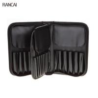 RANCAI 29 Pockets Makeup Artist Bags Zipper Holder Case For Men Women Cosmetic Case