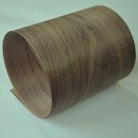 Folheado de madeira de nogueira de corte de coroa americana natural|Acessórios de móveis|   -