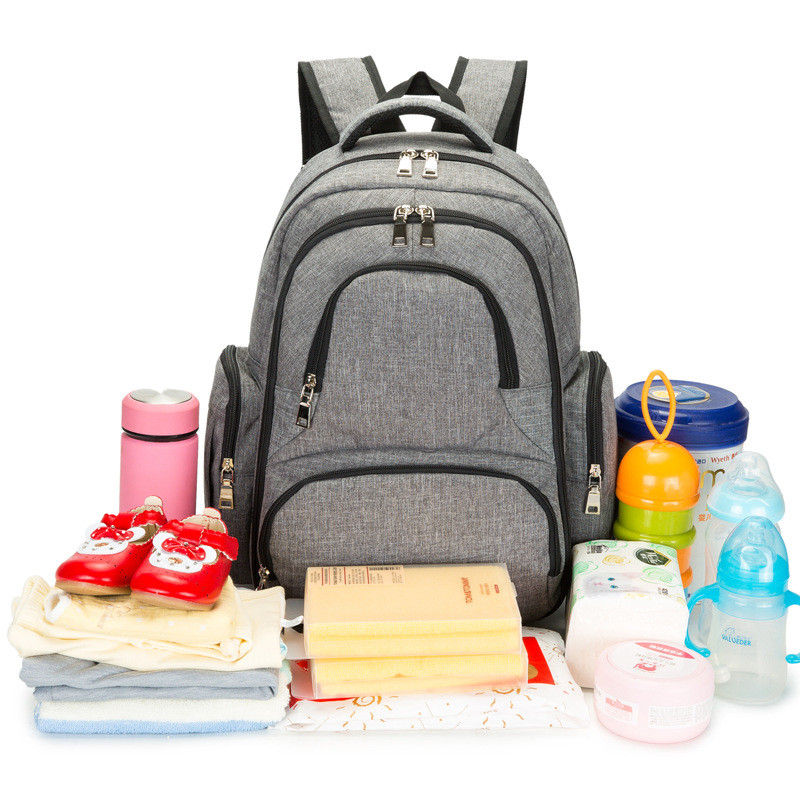 Mommy Bag Stroller Diaper Bags Baby Nappies Changing Mother Baby Travel Diaper Backpack Baby Organizer Disposable Diapers Tote