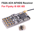 Новое поступление FS2A 4CH AFHDS 2A мини совместимый приемник ШИМ выход для Flysky i6 i6X i6S/FS-i6 передатчик для FS-i6X