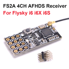 New Arrival FS2A 4CH AFHDS 2A Mini Compatible Receiver PWM Output for Flysky i6 i6X i6S / FS-i6 FS-i6X FS-i6S Transmitter
