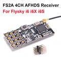 Nueva llegada FS2A 4CH AFHDS 2A Mini receptor Compatible PWM salida para Flysky i6 i6X i6S/FS-i6 FS-i6X transmisor de FS-i6S
