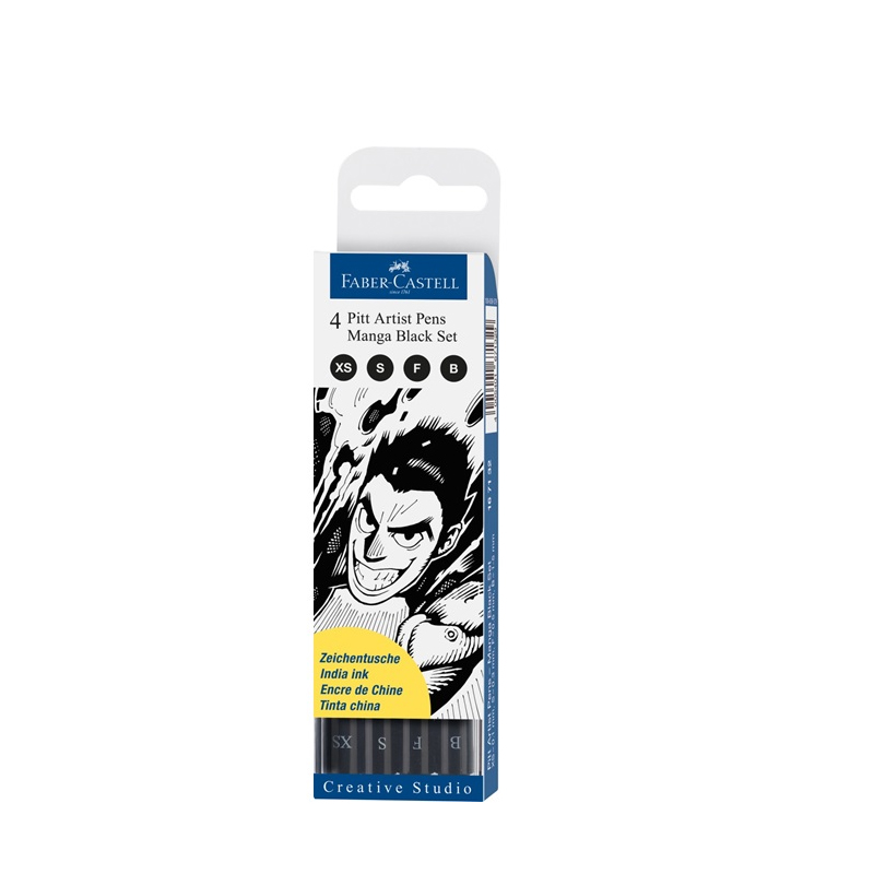 FABER CASTELL Art animation, needle tube pen, waterproof hook pen, hand drawn Mark pen, drawing pen, baoke pop pen student art advertisement mark pen art design poster pen