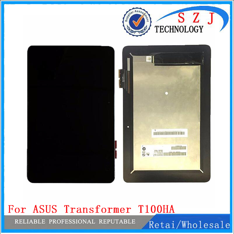 New 10.1'' inch case For ASUS Transformer Book T100HA T100HA-C4-GR LCD display touch screen assembly replacement Free Shipping black full lcd display touch screen digitizer replacement for asus transformer book t100h free shipping
