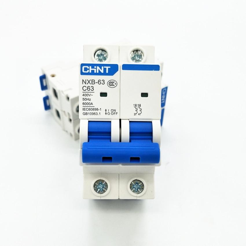 NL1-63 CHINT 2 Pole 25A Circuit Breaker