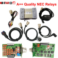 Best Quality MB Star C3 Pro Diagnostic tool NEC Relays MB Star C3 Multiplexer with HDD Software 2018.09V full set for car/truck
