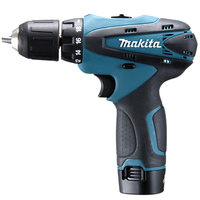 Makita 10.8V DF330DWE Rechargeable lithium battery Screwdriver drill 1,300rpm 24 / 14N.m