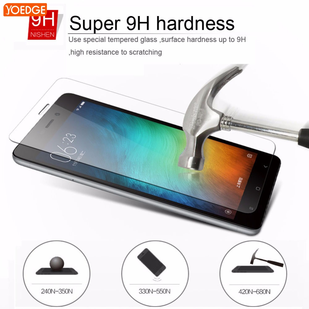 For Xiaomi Redmi 3 3S Pro 3 S 3X 4X 4 pro prime 4A Note 2 3 4 Pro mi4 mi4c mi5 mi 5 mi5s 5s Plus mi6 Max Mix Tempered Glass Case
