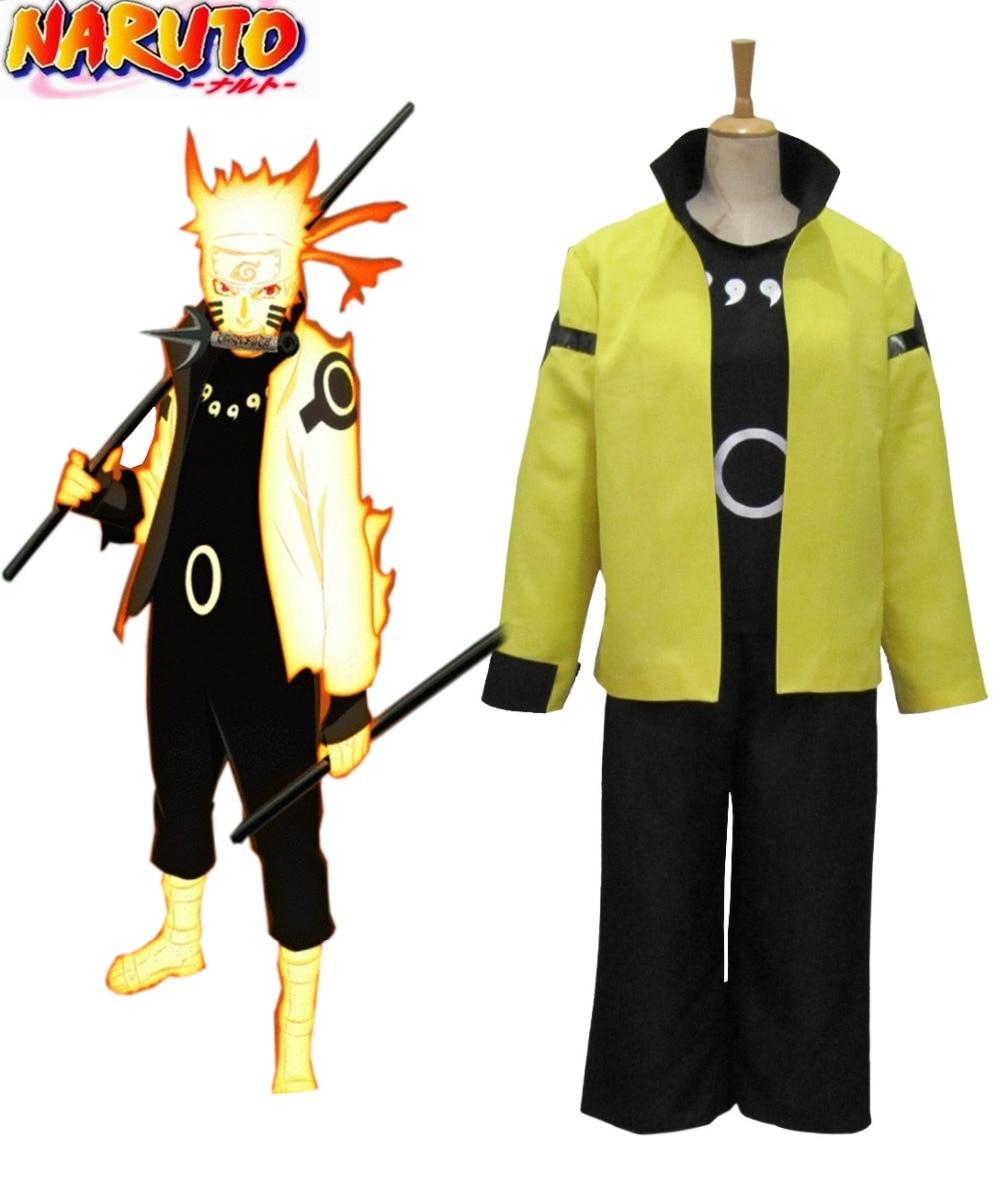 Free Shipping font b Naruto b font Uzumaki font b Naruto b font Nine Tails Bijuu