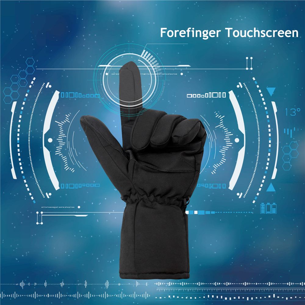 medium resolution of 4 5v rechargeable electric battery heated gloves for men and women battery powered hand warmer gloves in smart accessories from consumer electronics on