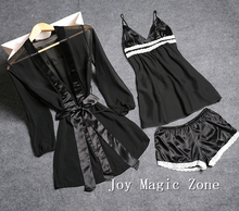 Yomrzl летние пикантные кружевные женские пижамы набор черный марли Sleep Set сексуальное женское белье подарок ко Дню Святого Валентина L510