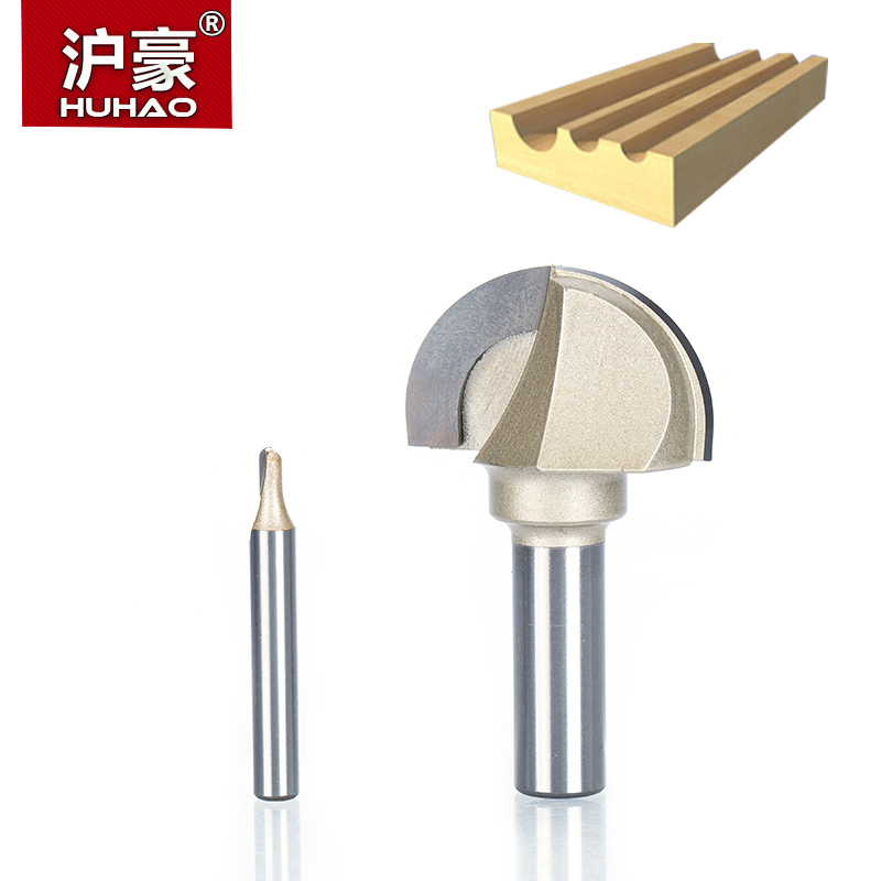 HUHAO 1pcs 1/2 1/4 Shank cove box bit Double Edging Router Bits for wood Tungsten Carbide Woodworking endmill miiling cutter huhao 1pcs 1 2 1 4 shank classical router bits for wood tungsten carbide woodworking endmill tools classical mounlding bit