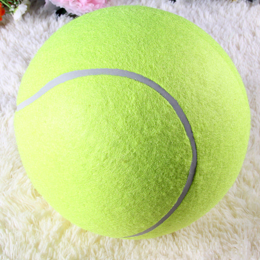 65 Cm 25 Raksasa Besar Anjing Peliharaan Bola Tenis Petsport Tennis Chucker Pelempar Peluncur Bermain Mainan