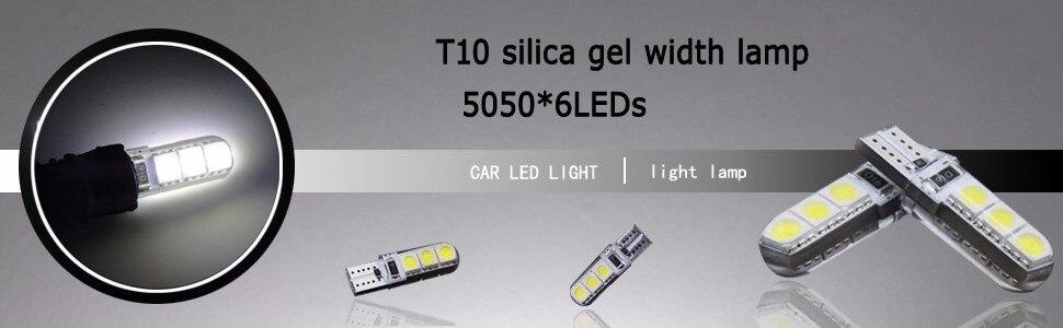 4 Pcs W5W 168 194 SMD T10 LED Luzes Brancas Cunha Lâmpadas Laterais - Faróis do carro - Foto 5