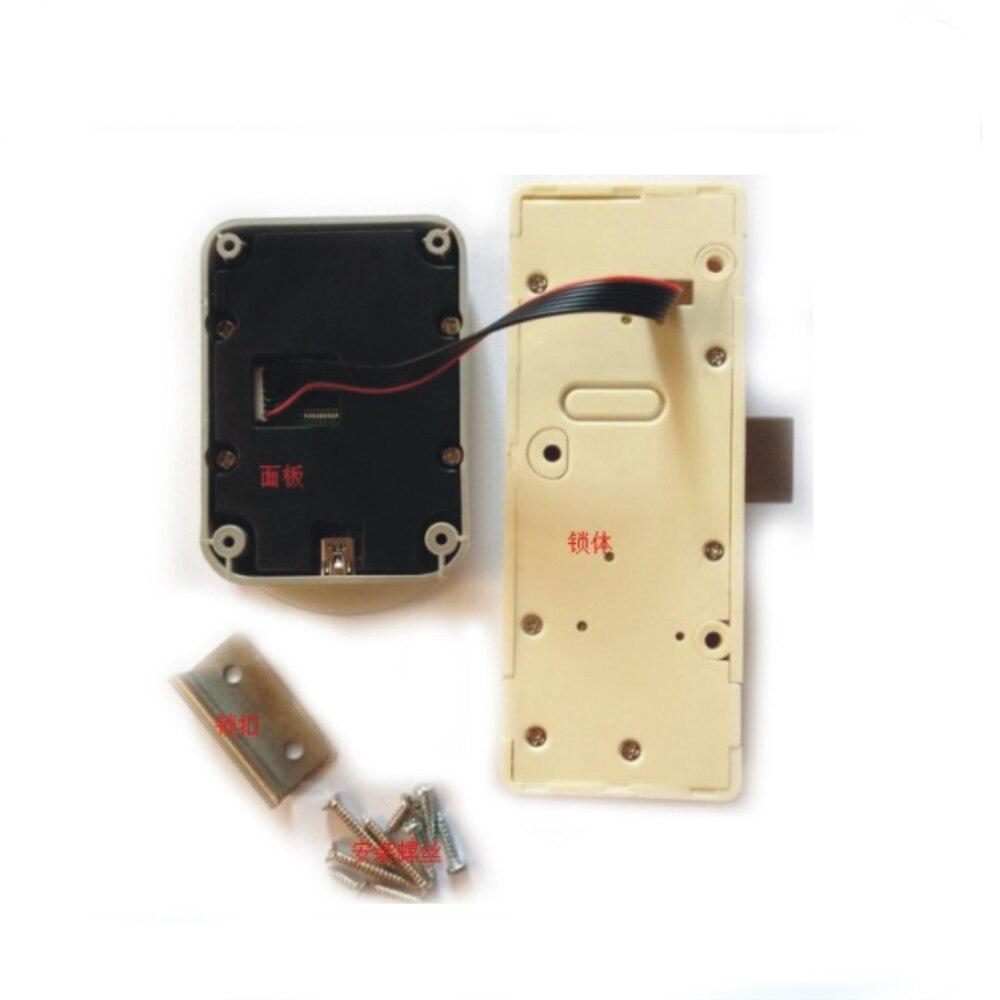 Image 3 - DC 6V электронный пароль замок двери шкафа электронный кодовый замок ящика/файл замок шкафа-in Электрический замок from Безопасность и защита on AliExpress