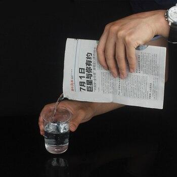 ¡Novedad de 2019! ¡novedad! accesorios de trucos de magia con agua oculta para periódicos de primer plano, divertidos juguetes clásicos para fiestas de Halloween