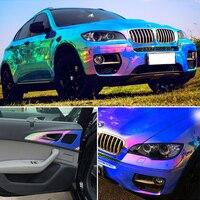AuMoHall 1,35 м * 18 м глянцевая пленка для кузова автомобиля меняющая цвет пленка для автомобиля Тюнинг часть наклейка